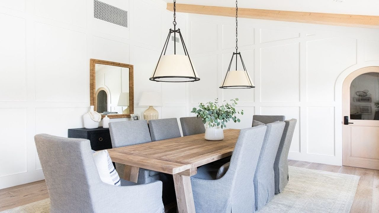OC Ranch Remodel: Entry, Sitting Room, Living, and Dining Video Tour
