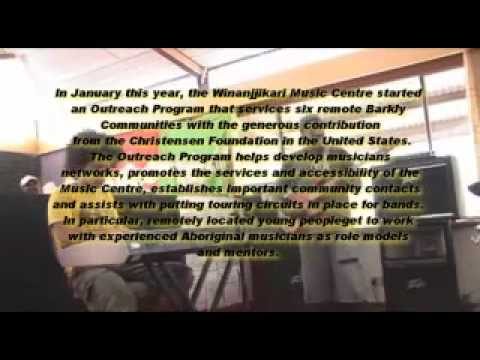 Winanjjikari 2009 Music Employment Program