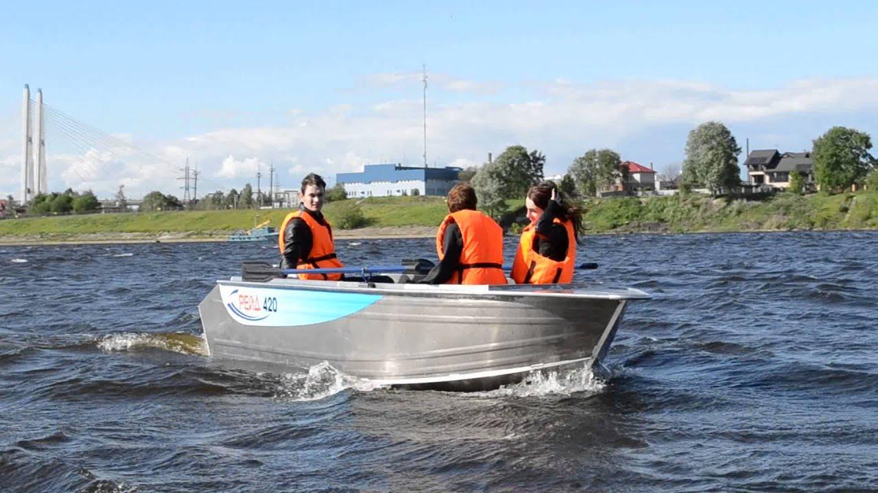 Лодка LAKER RIB 350 - YouTube
