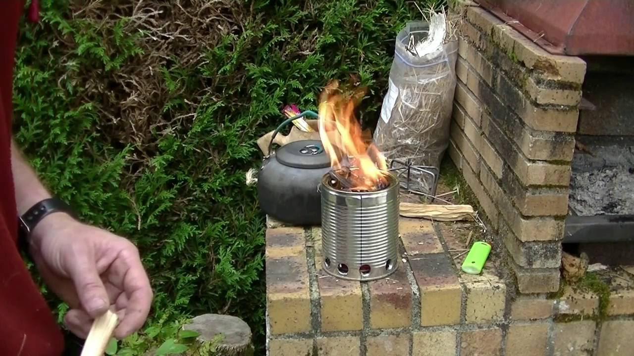 Download Réchaud à pyrolyse - fabrication et utilisation