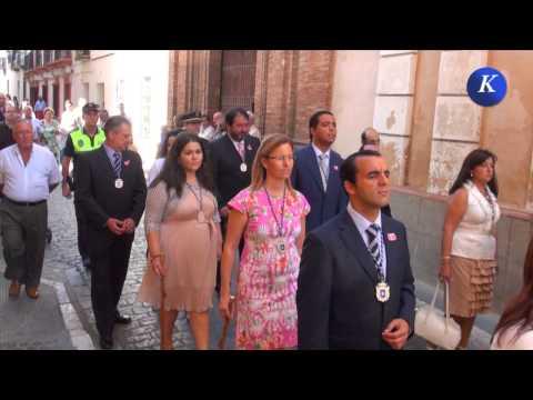 """Carmona: Asistencia de la corporacion bajo maza """"Dia de la Virgen de Gracia"""""""