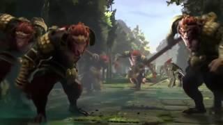 Анонс нового персонажа Dota 2 !!! Король обезьян - Monkey King -