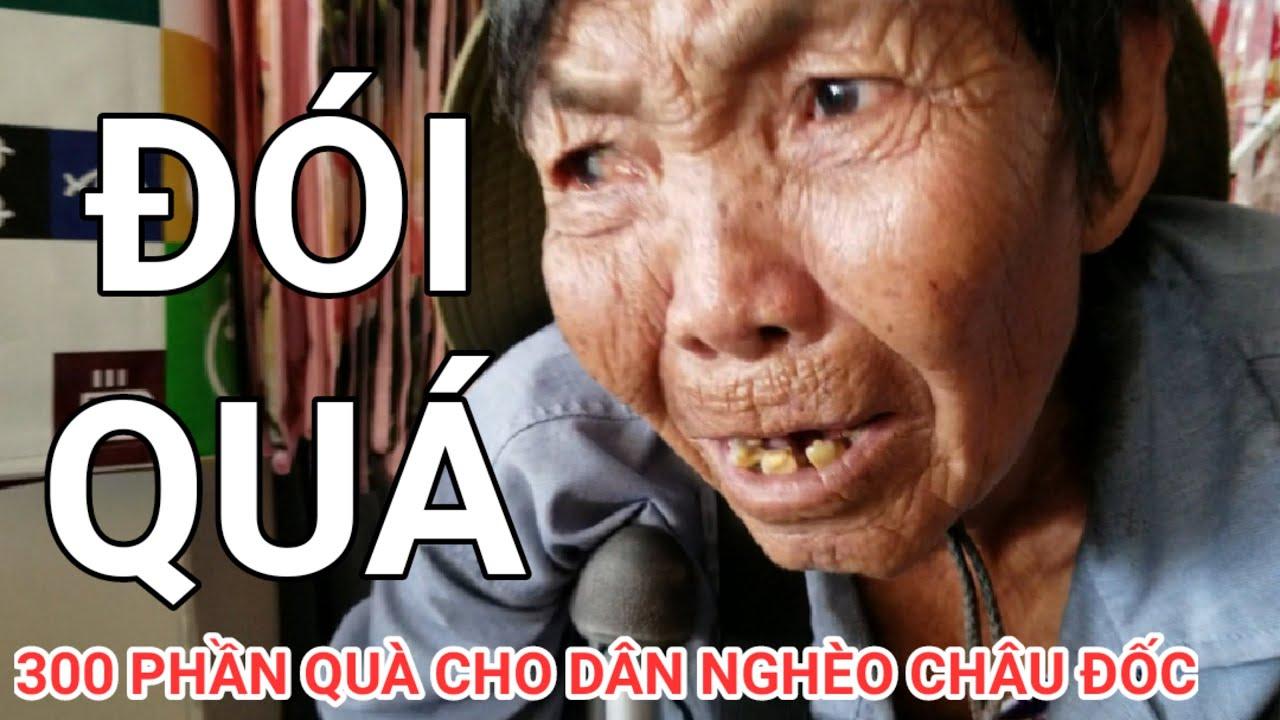 300 Phần Quà và Tiền vẫn không cứu hết dân nghèo ở Châu Đốc An Giang