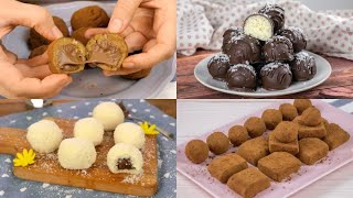 4 ways to make delicious truffles in minutes!