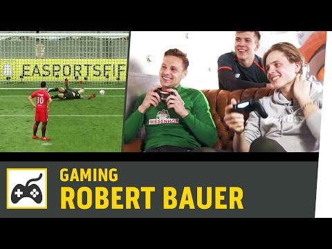 FIFA 17 gegen Robert Bauer | SV Werder Bremen vs. Eintracht Frankfurt | Kickbox