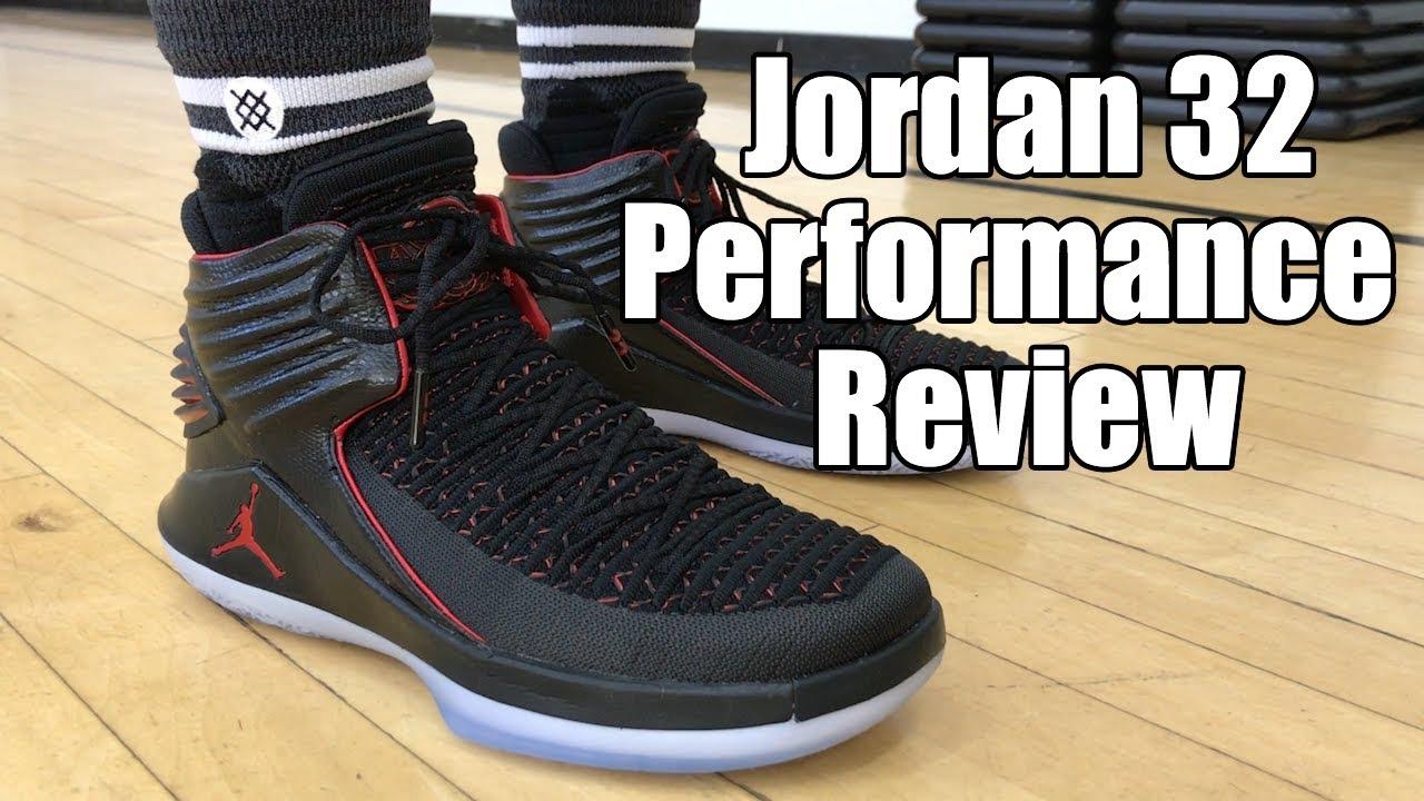 ba3848e3b34 Air Jordan 32 (XXXII) Performance Review - YouTube