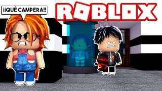 THE MOST CAMPERA BEAST AGAINST BABY LULY and DERANKITO in ROBLOX FLEE THE FACILITY 😱