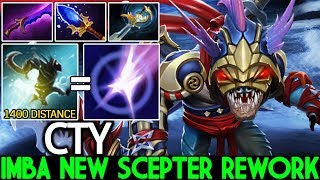 CTY [Slark] Imba New Scepter Pounce 1400 Distance Crazy Gank 7.23 Dota 2