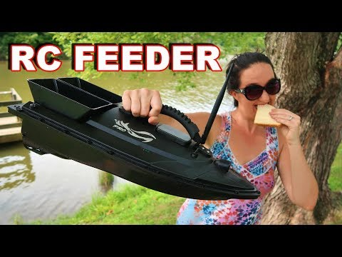 Feeding Nemo - Hunting For Fish With A BAIT BOAT! - TheRcSaylors
