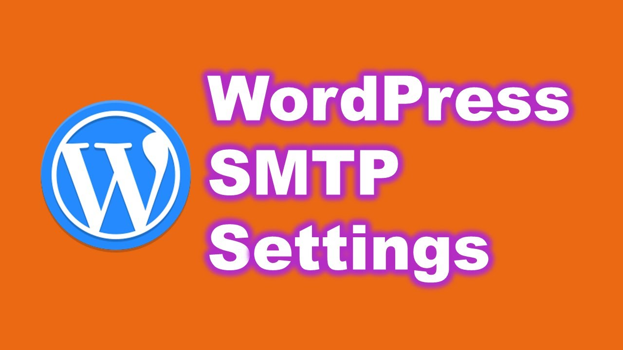 WordPress GoDaddy hosting plan SMTP email setting up ...