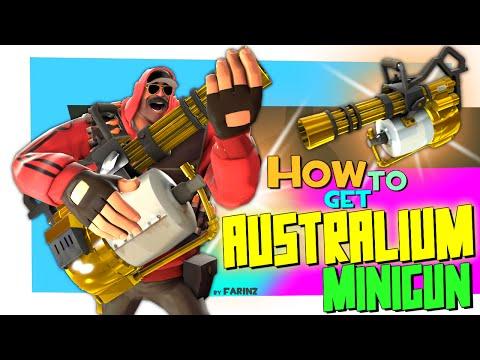 TF2: How to get Australium Minigun [FUN]