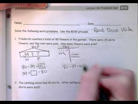 Solve Word Problems within 100 (with video solutions