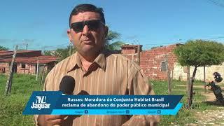 Russas: Moradora do Conjunto Habitat Brasil reclama de abandono do poder público municipal