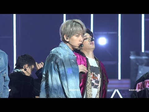 180111 Diamond 백현 Baekhyun Focus