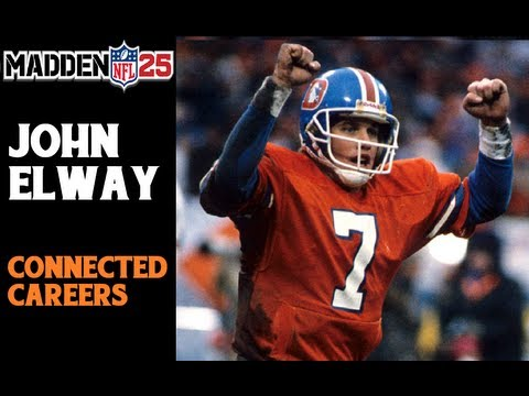 Madden NFL 25 | Connected Careers | Quarterback John Elway Preview