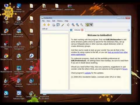 How to add your own dictionary to GoldenDict