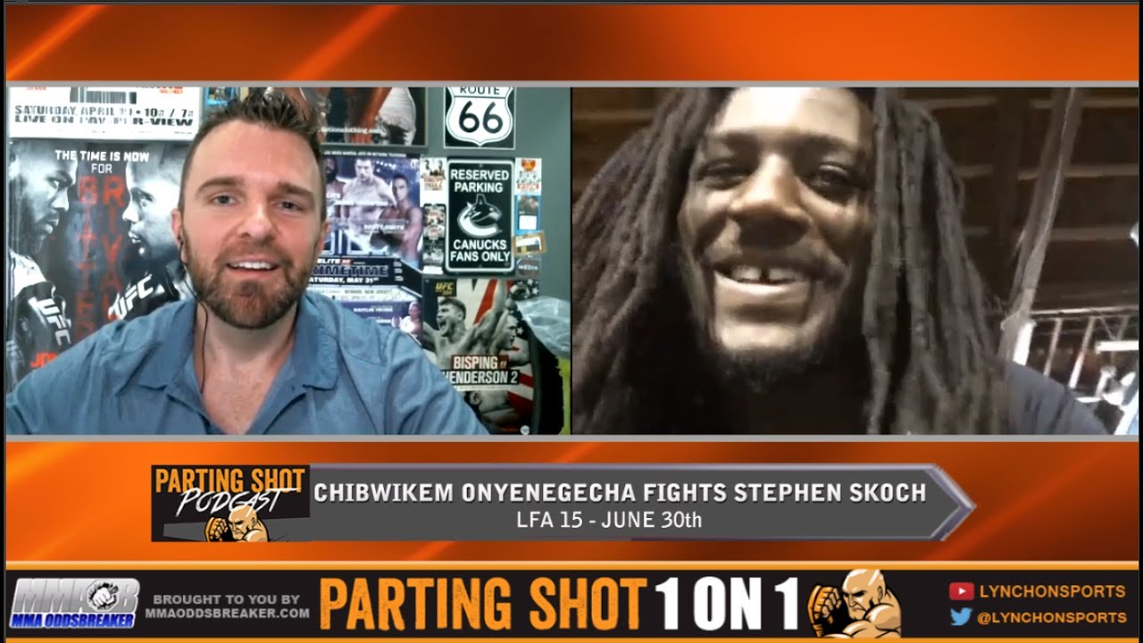Chibi Onyenegecha talks LFA debut June 30th & training with UFC's Tim Means