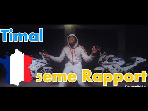 FRANCE RAP REACTION: Timal - 5eme Rapport | German reacts