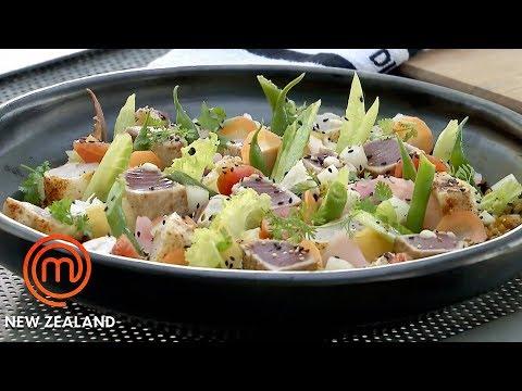 Brown Rice & Island Fish Salad Masterclass   MasterChef New Zealand   MasterChef World