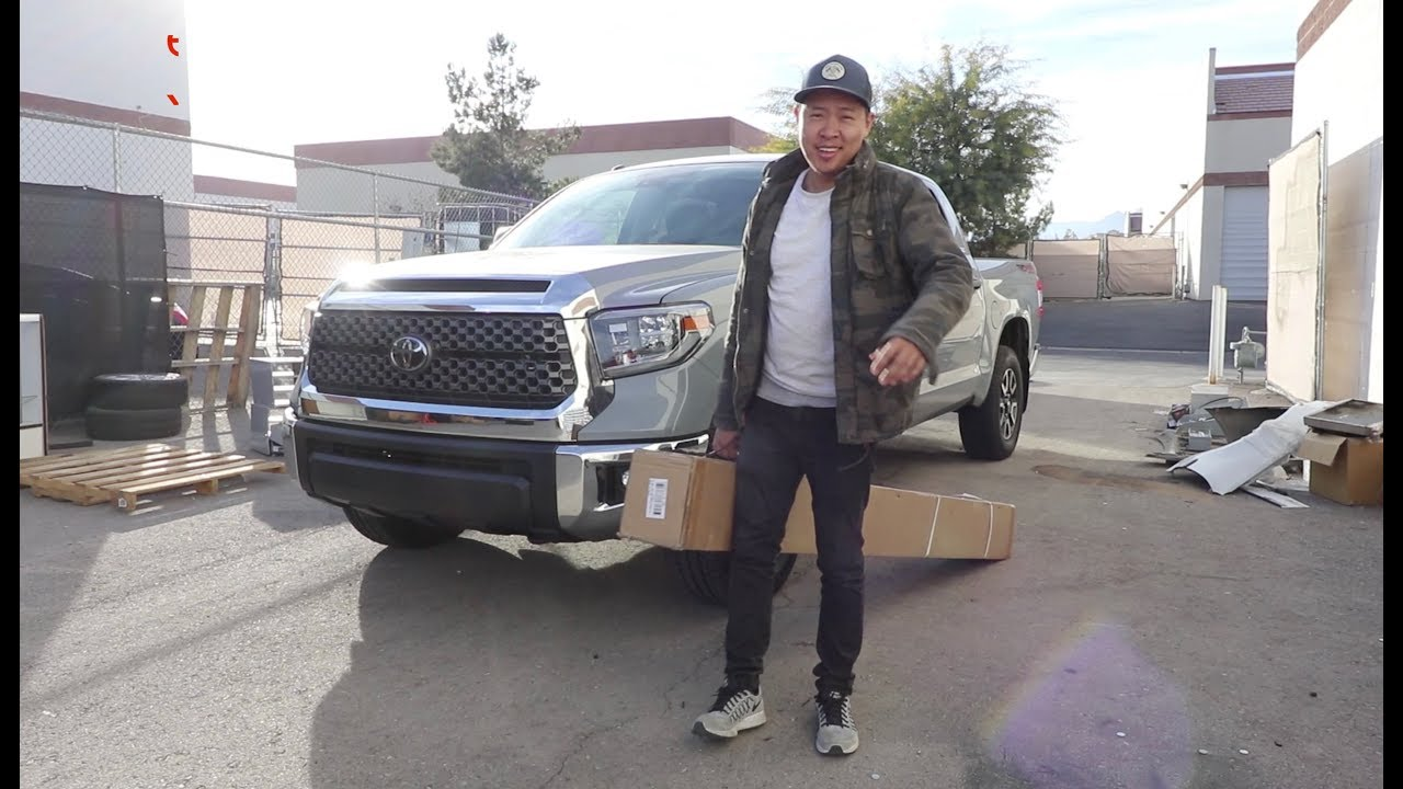 eBay Toyota Tundra Running Board Install Review