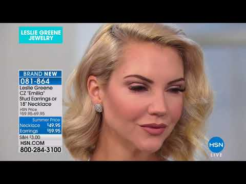 HSN | Leslie Greene for Absolute Jewelry . http://bit.ly/2LaaMmy