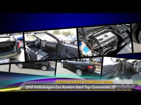 2010 Volkswagen Eos Komfort Hard Top Convertible