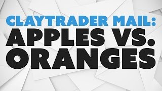 ClayTrader Mail: Apples vs. Oranges / Trading vs. Investing