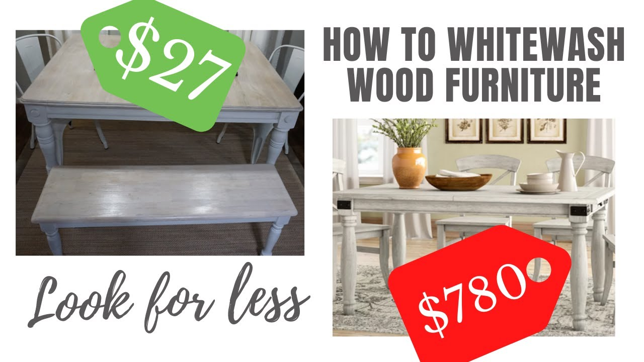 Farmhouse Kitchen Table Makeover + Look For Less June 2020