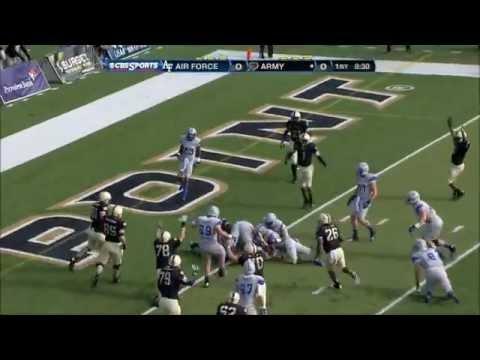 Highlights: Army Football vs. Air Force 11-3-12 - YouTube