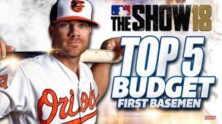 MLB The Show 18 Top 5 Budget First Basemen
