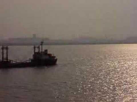 MATSON S.S Lurline On Yangtze River