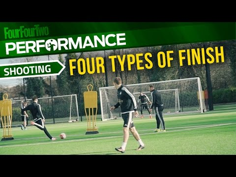 Soccer shooting exercise | Four types of finish drill | Swansea City Academy