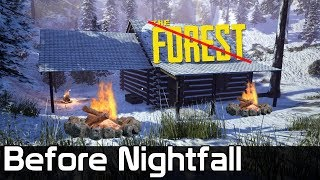 Before Nightfall Gameplay / The Forest w ZIMIE?