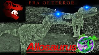 Era of Terror - Allosaurus est-il brisé? - Roblox Gameplay Stream