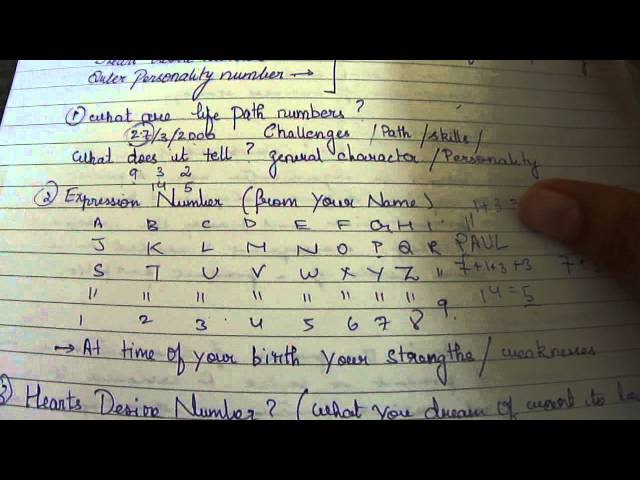 compatibility match/ challenge numbers in detail numerology - YouTube