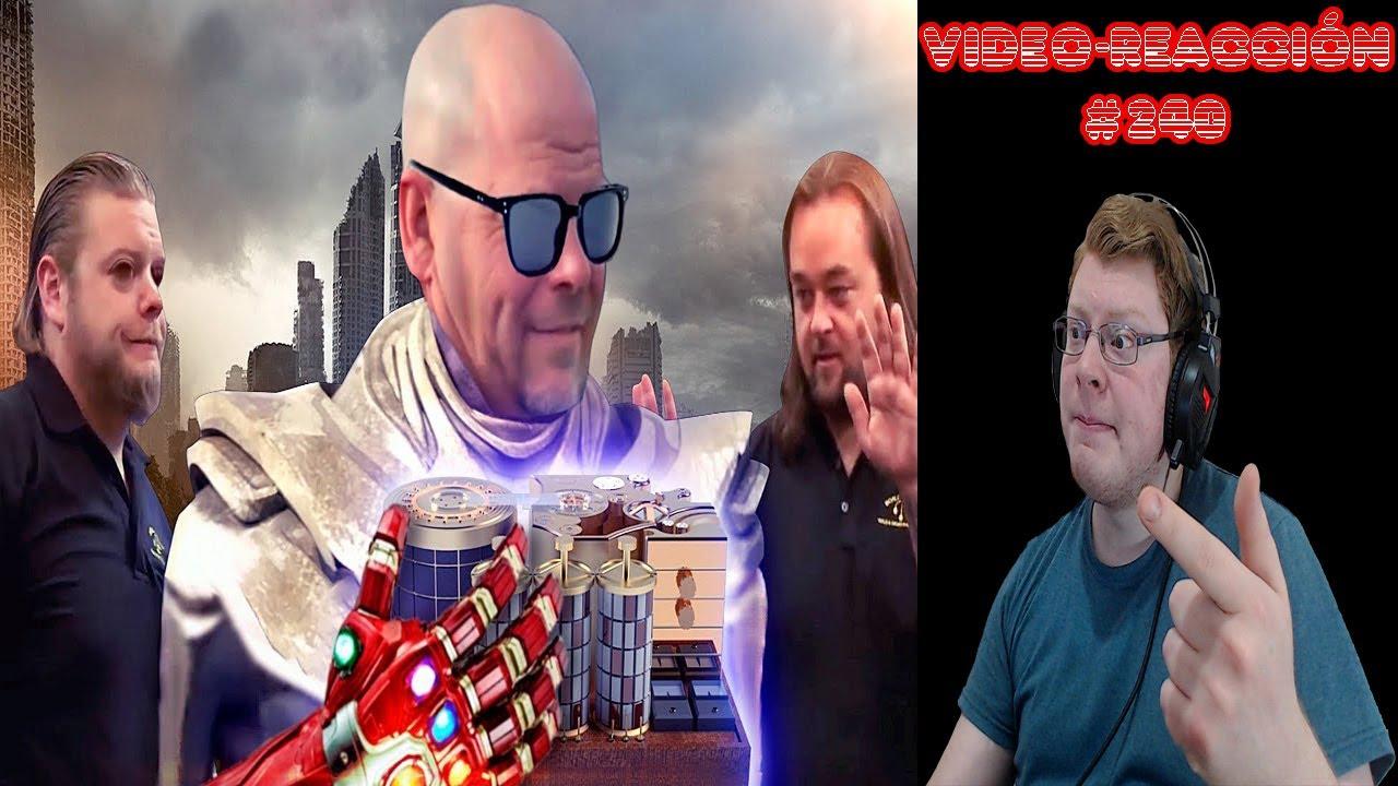 Video-reacción #240 YTPH| A Thanos le empeñan una maquina del tiempo para vengarse de los vengadores