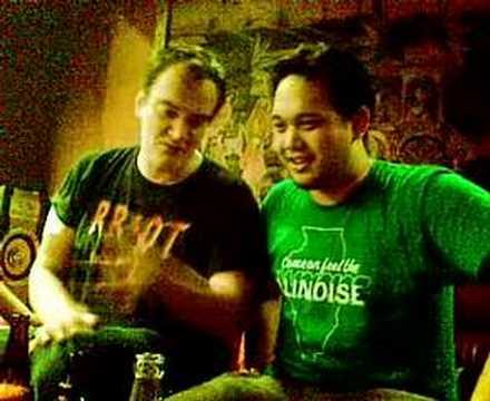 Quentin Tarantino talks to me while I have a Geekgasm