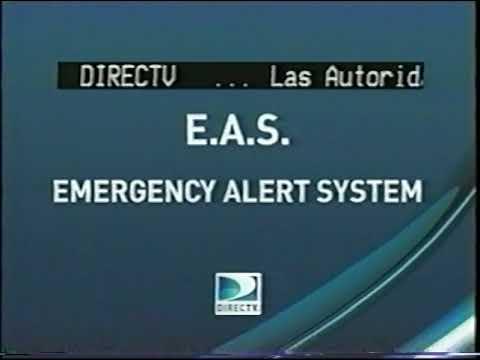DirecTV Emergency Alert System (7/27/2010)
