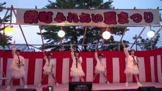 2016年8月6日、弘前市。ライスボール「JONKARA」。青森アイドル。今では...