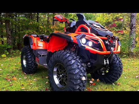 XMR Trail Mode? Elka Suspension, EFX Motoclaws, MSA and Highlifter!
