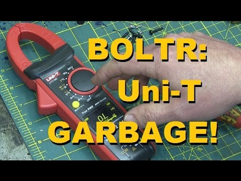 BOLTR: UNI-T Clamp-On Multimeter