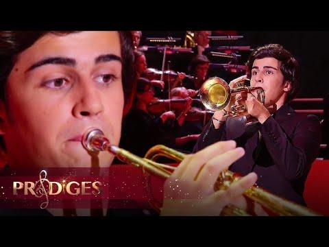 """Raphaël joue le """"Concerto Trompette"""" de Joseph Haydn - Prodiges 5"""