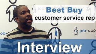 Best Buy Interview - Customer Service Representative