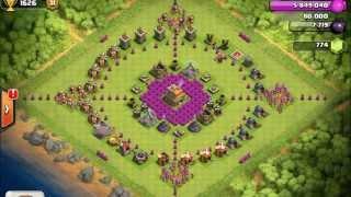 layout mais daoras de clash of clans #1