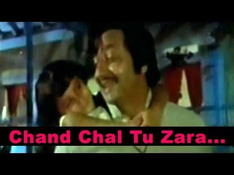 Chand Chal Tu Zara Dheeme - Kishore Kumar @ Mithun Chakraborty, Ranjeeta ,Pran Kader Khan