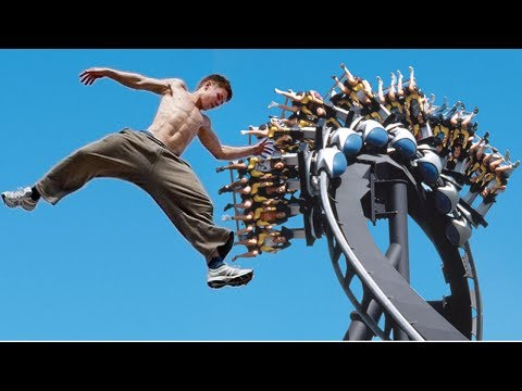Parkour at the Theme Park Part II (Free running at Bush Gardens)