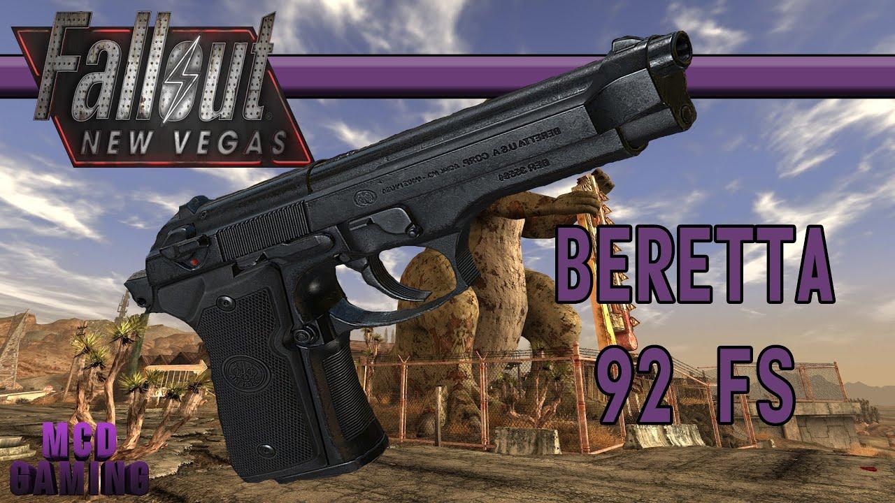 Beretta 92 Fs Fallout New Vegas Mod Spotlight Youtube