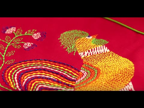 Give Your Cushions A Fresh Look With Liquid Embroidery Youtube