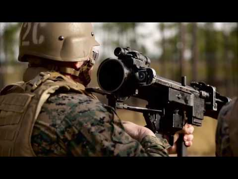 U.S. Marine Corps Combat Engineers Get Familiar with the SMAW