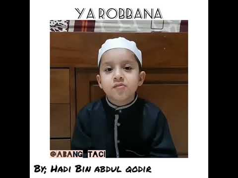 Sholawat Ya Robbana Cucu Habib Syech